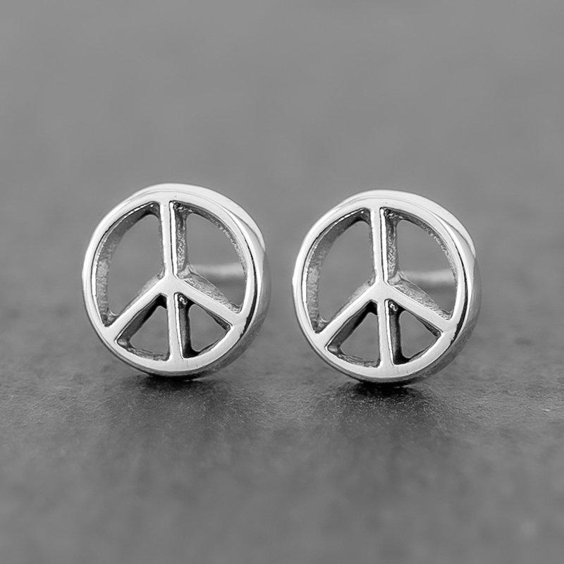 Peace-Sign-Earrings