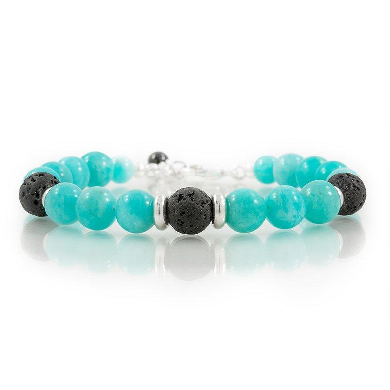 Amazonite-Gemstone-oil-diffuser-bracelet-FrontSquare-800