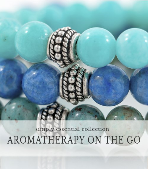 Oil Diffuser Bracelet, Artisan Sterling and Gemstone Jewelry,