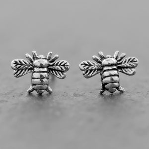 Bee Earrings Dainty Studs