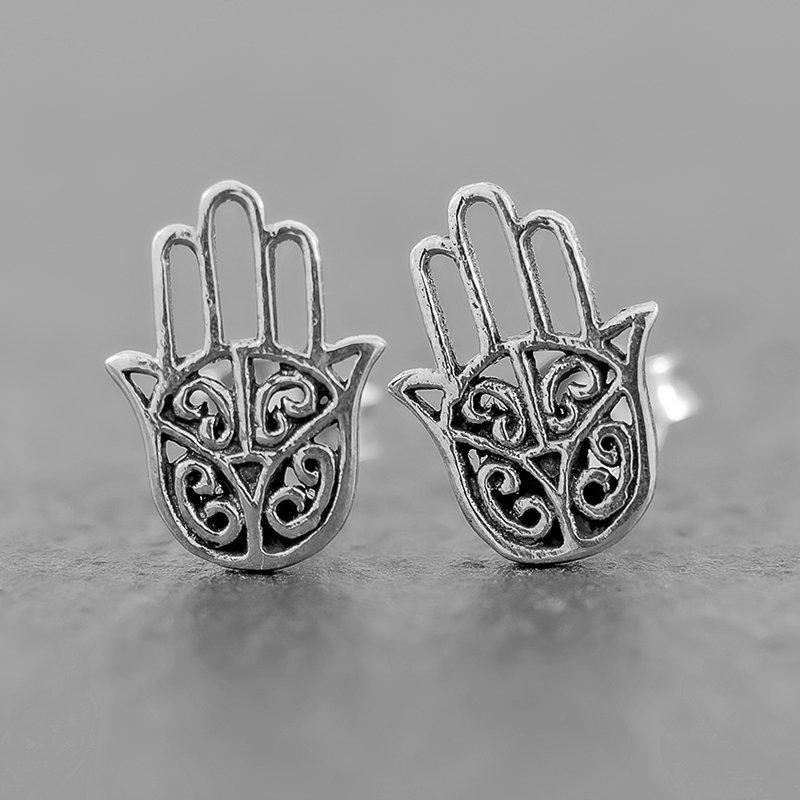 Hasma-Hand-Earrings-Studs-open