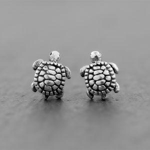 Turtle Earrings dainty studs