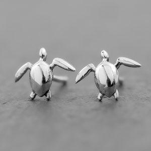 Terrapin Turtle Earrings