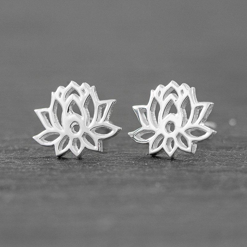 Lotus-Flower-Earrings-sterling-silver