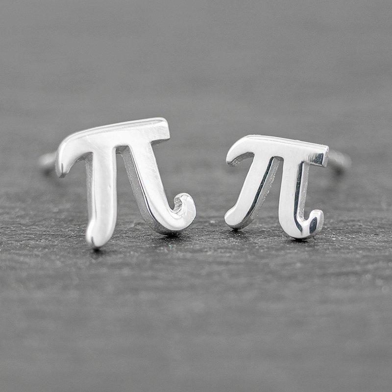 Pi-Earring-Studs-Set-large-Sterling-Silver-Math-jewlery