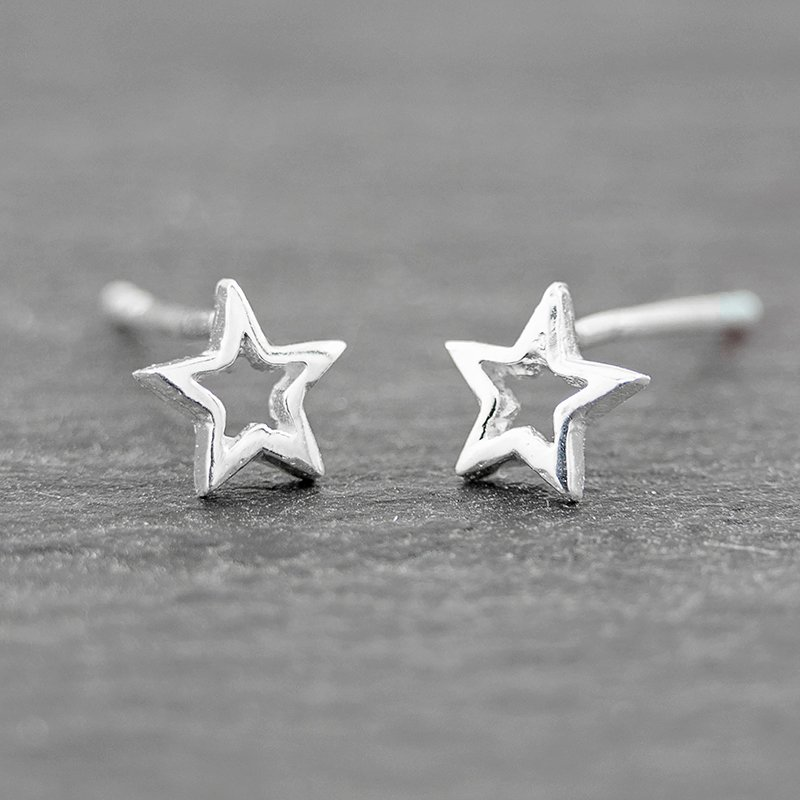 Star-Earring-Tiny-Stud-Sterling-Silver